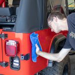 Jeep cleaning